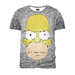 Noorhero - Camiseta de Hombre - Homer Incacchiatohttps://amzn.to/2vl15Zw