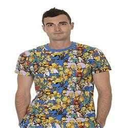 Camiseta de manga corta para adulto Hombre y mujer de los Simponshttps://amzn.to/2DtrTuR