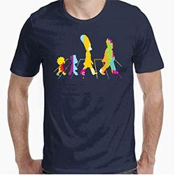 Camisetas Paso de los Simpsons - Mhttps://amzn.to/2DurGHY