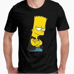 Camiseta - diseño Original - Camiseta Bart Simpson - XXLhttps://amzn.to/394nfS7