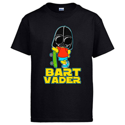 Camiseta Star Wars Bart Vaderhttps://amzn.to/391Ph0U
