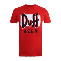 Simpsons Duff Beer, Camiseta para Hombrehttps://amzn.to/2Q7Bc9w