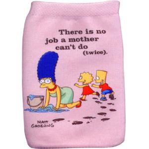 J-Straps The Simpsons - Socke, Simpsons Mom - fundas para teléfonos móviles (Simpsons Mom, 6,5 cm, 11 cm) Rosahttps://amzn.to/2E0d3xe