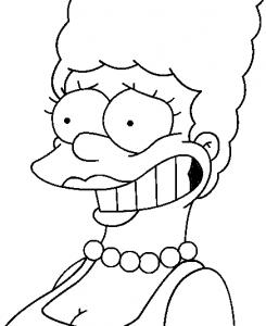 Dibujos De Los Simpsons 2019 Para Dibujar Colorear Pintar E