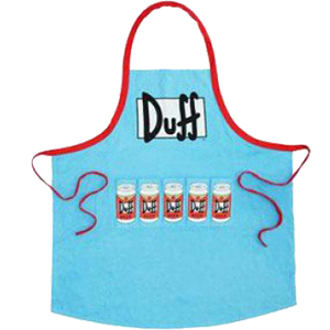 Duff Beer Delantal Logo 84 cmhttps://amzn.to/2IkwVid